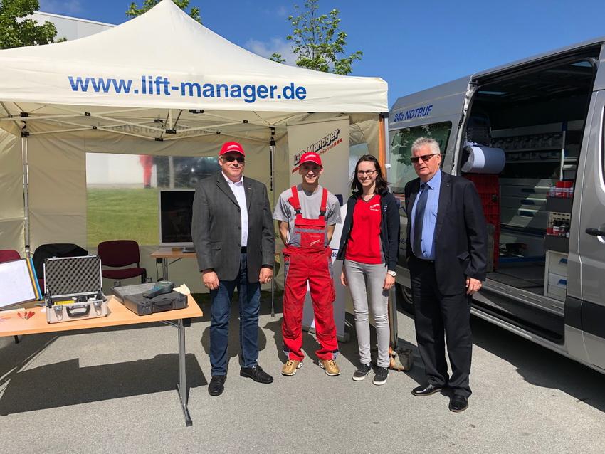 Lift-Manager beim INSIDER-TREFF 2019 in Löbau