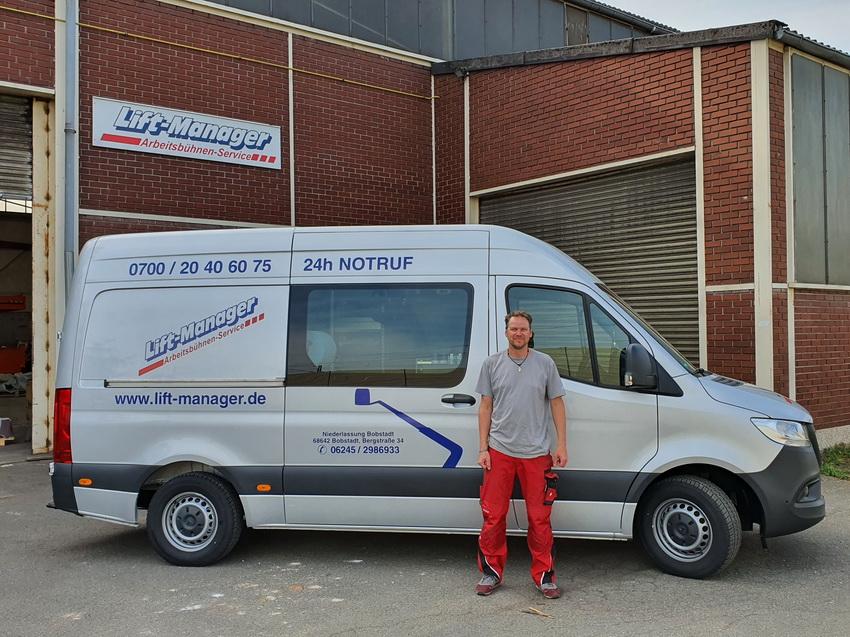 Lift-Manager Service-Fahrzeug Bobstadt