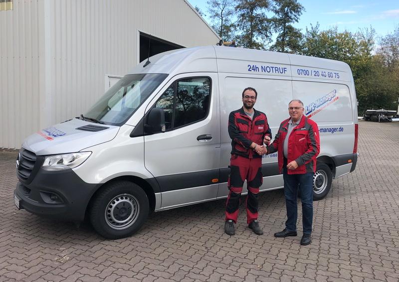 Neuer Service Sprinter für die Niederlassung Hannover