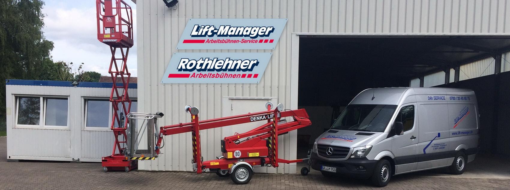 Lift-Manager Arbeitsbühnen Service - Hannover