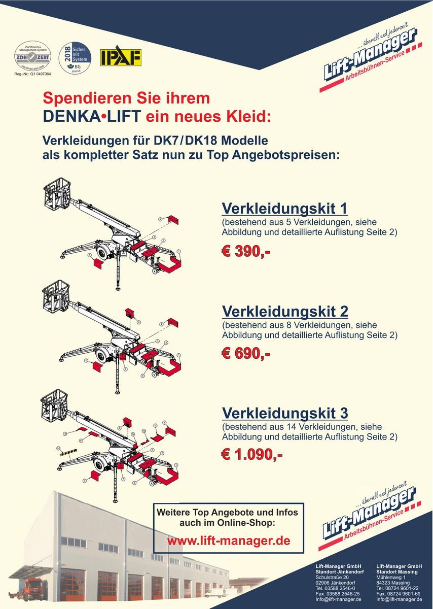 Verkleidungs-Kit Aktion DK7