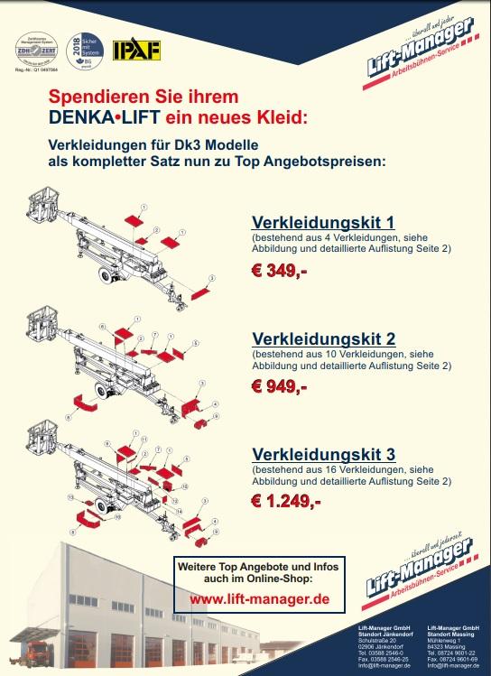 Verkleidungskit DK3 Denka