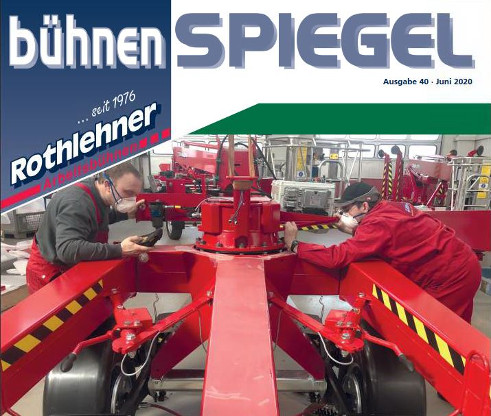 The new BÜHNENSPIEGEL is out. Issue 40