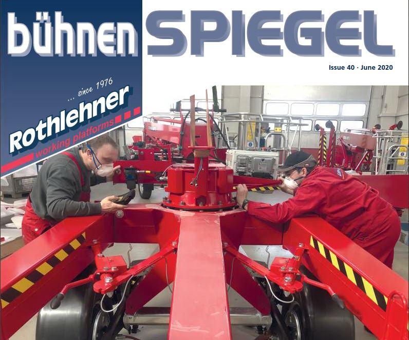 Lift-Manager Arbeitsbühnen Service - The new BÜHNENSPIEGEL is out. Issue 40
